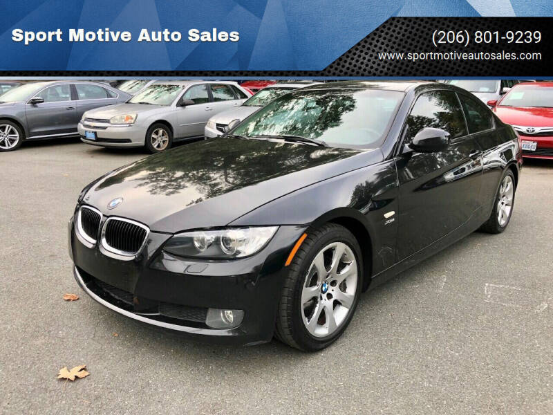 2010 BMW 3 Series for sale at Sport Motive Auto Sales in Seattle WA