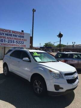 2010 Chevrolet Equinox for sale at Choice Motors of Salt Lake City in West Valley  City UT