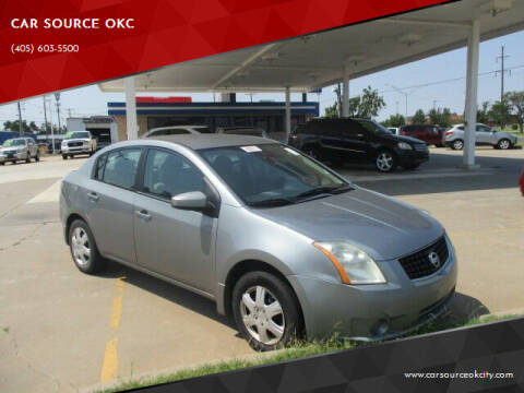 2009 Nissan Sentra for sale at CAR SOURCE OKC - CAR ONE in Oklahoma City OK