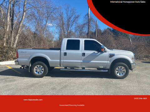 2008 Ford F-350 Super Duty for sale at International Horsepower Auto Sales in Warwick RI
