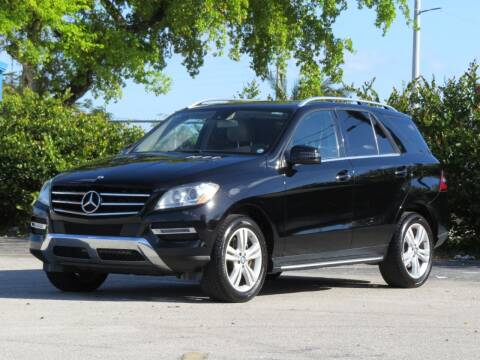 2014 Mercedes-Benz M-Class for sale at DK Auto Sales in Hollywood FL