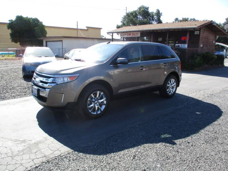 2012 Ford Edge for sale at Manzanita Car Sales in Gridley CA