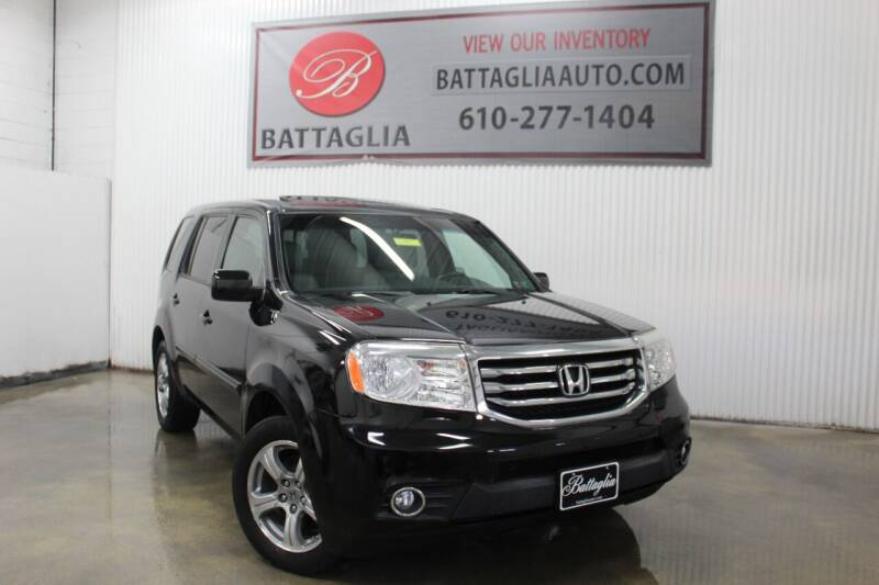 2013 Honda Pilot for sale at Battaglia Auto Sales in Plymouth Meeting PA