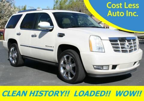 2007 Cadillac Escalade for sale at Cost Less Auto Inc. in Rocklin CA