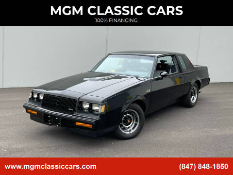 1987 Buick Regal for sale at MGM CLASSIC CARS in Addison, IL
