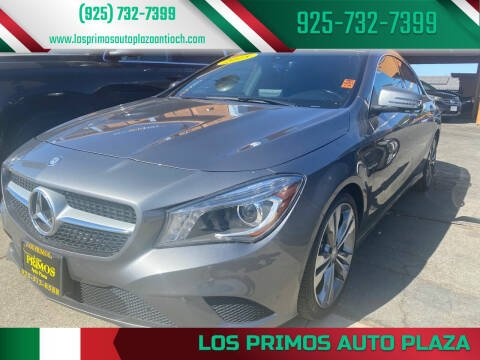 2015 Mercedes-Benz CLA for sale at Los Primos Auto Plaza in Antioch CA