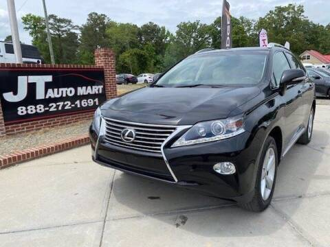 2014 Lexus RX 350 for sale at J T Auto Group in Sanford NC