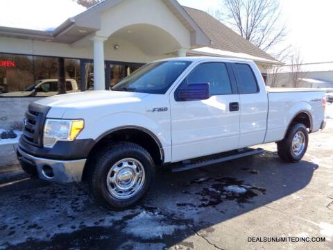 2011 Ford F-150 for sale at DEALS UNLIMITED INC in Portage MI