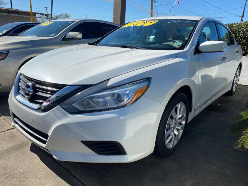 2016 Nissan Altima for sale at Bobby Lafleur Auto Sales in Lake Charles LA