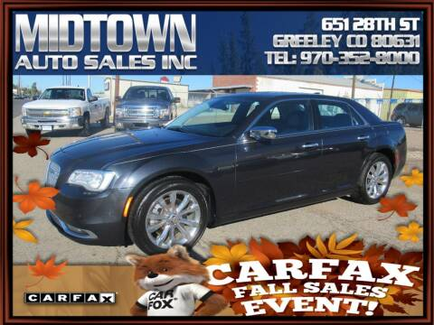 2015 Chrysler 300 for sale at MIDTOWN AUTO SALES INC in Greeley CO