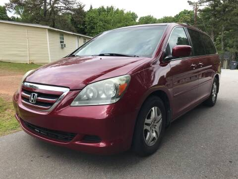 2006 Honda Odyssey for sale at CAR STOP INC in Duluth GA
