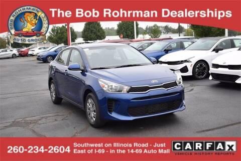 2020 Kia Rio for sale at BOB ROHRMAN FORT WAYNE TOYOTA in Fort Wayne IN