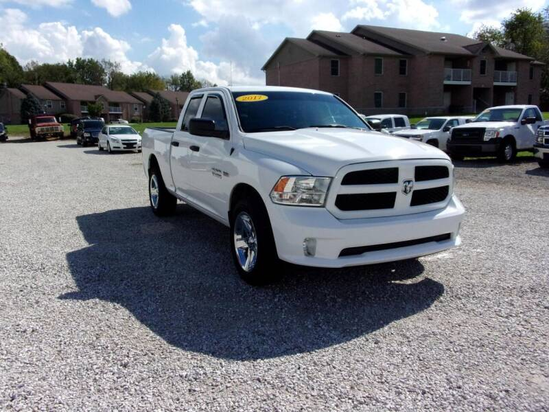 2017 RAM Ram Pickup 1500 for sale at BABCOCK MOTORS INC in Orleans IN