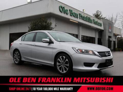 2015 Honda Accord for sale at Ole Ben Franklin Mitsbishi in Oak Ridge TN