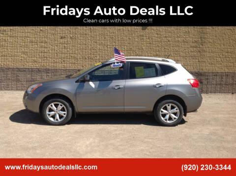 2009 Nissan Rogue for sale at Fridays Auto Deals LLC in Oshkosh WI