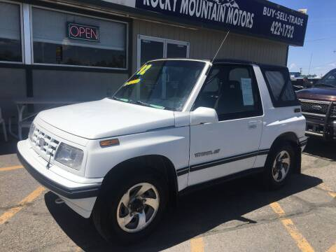 1992 GEO Tracker for sale at Kevs Auto Sales in Helena MT