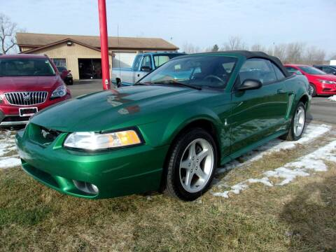 1999 Ford Mustang SVT Cobra for sale at DAVE KNAPP USED CARS in Lapeer MI