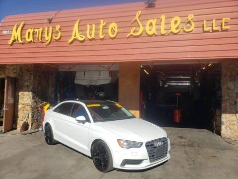 2015 Audi A3 for sale at Marys Auto Sales in Phoenix AZ