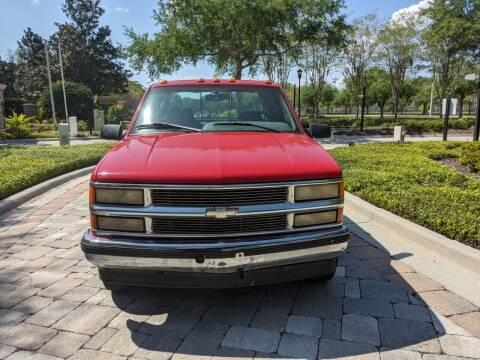 1996 Chevrolet C/K 3500 Series for sale at M&M and Sons Auto Sales in Lutz FL
