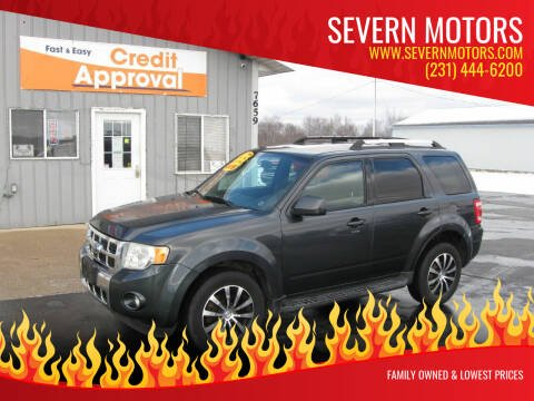 2009 Ford Escape for sale at Severn Motors in Cadillac MI