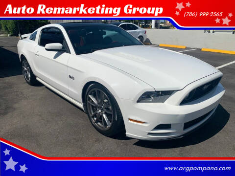 2013 Ford Mustang for sale at Auto Remarketing Group in Pompano Beach FL