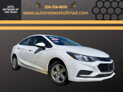 2018 Chevrolet Cruze for sale at Auto Network of the Triad in Walkertown NC