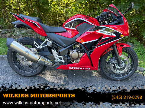 2018 Honda CBR300R for sale at WILKINS MOTORSPORTS in Brewster NY