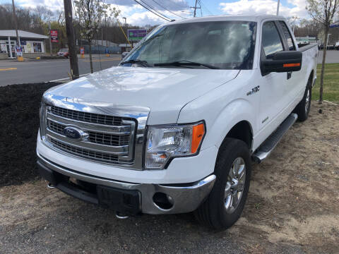 2013 Ford F-150 for sale at AUTO OUTLET in Taunton MA