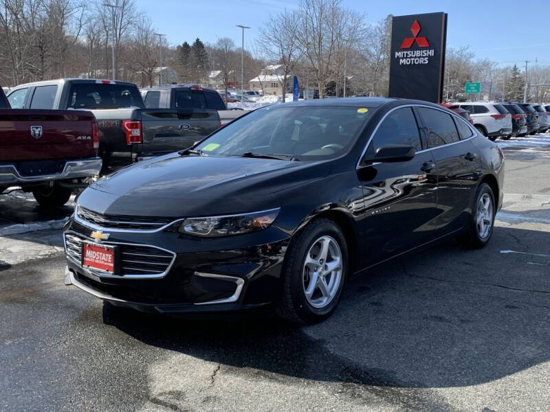 2016 Chevrolet Malibu for sale at Midstate Auto Group in Auburn MA
