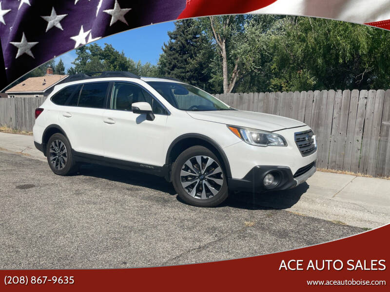 2016 Subaru Outback for sale at Ace Auto Sales in Boise ID