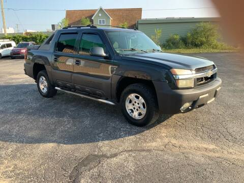 2004 Chevrolet Avalanche for sale at Stein Motors Inc in Traverse City MI