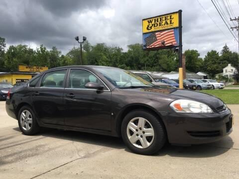 2008 Chevrolet Impala for sale at Wheel & Deal Auto Sales Inc. in Cincinnati OH