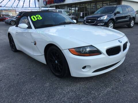 2003 BMW Z4 for sale at I-80 Auto Sales in Hazel Crest IL