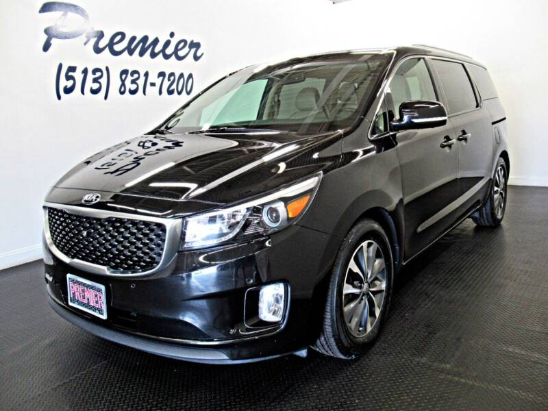 2016 Kia Sedona for sale at Premier Automotive Group in Milford OH