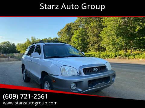 2002 Hyundai Santa Fe for sale at Starz Auto Group in Delran NJ