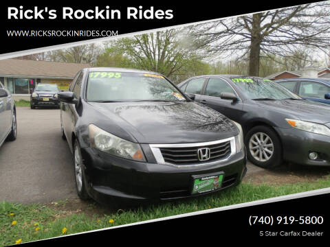 2010 Honda Accord for sale at Rick's Rockin Rides in Reynoldsburg OH