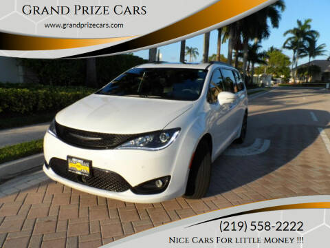 2018 Chrysler Pacifica for sale at Grand Prize Cars in Cedar Lake IN