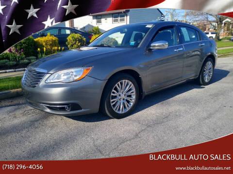 2012 Chrysler 200 for sale at Blackbull Auto Sales in Ozone Park NY