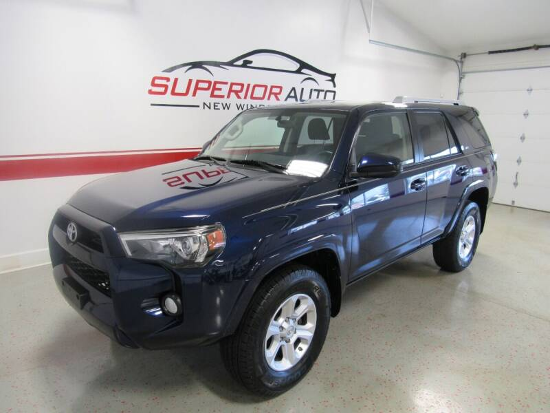 2015 Toyota 4Runner for sale at Superior Auto Sales in New Windsor NY