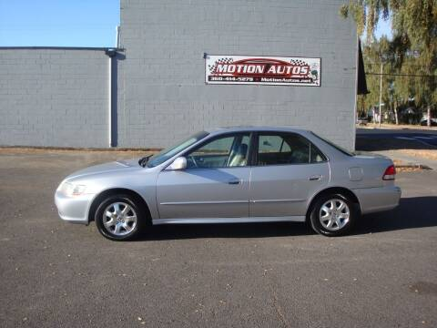 2001 Honda Accord for sale at Motion Autos in Longview WA