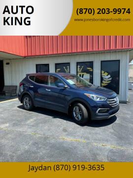 2017 Hyundai Santa Fe Sport for sale at AUTO KING in Jonesboro AR
