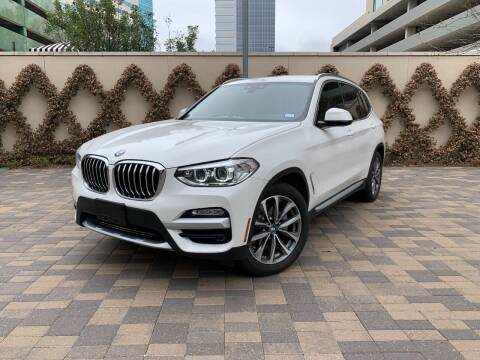 2019 BMW X3 for sale at ROGERS MOTORCARS in Houston TX