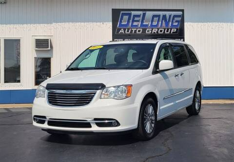 2015 Chrysler Town and Country for sale at DeLong Auto Group in Tipton IN