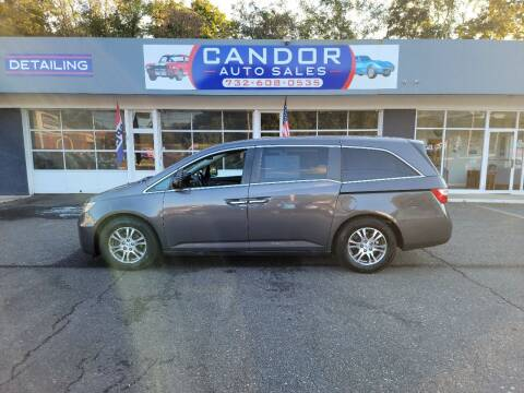 2013 Honda Odyssey for sale at CANDOR INC in Toms River NJ