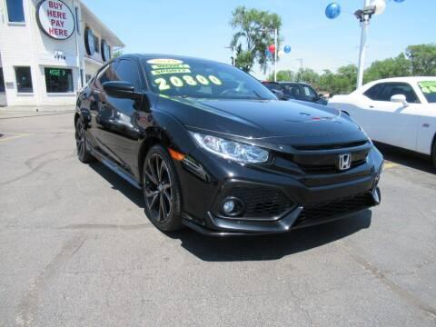 2018 Honda Civic for sale at Auto Land Inc in Crest Hill IL