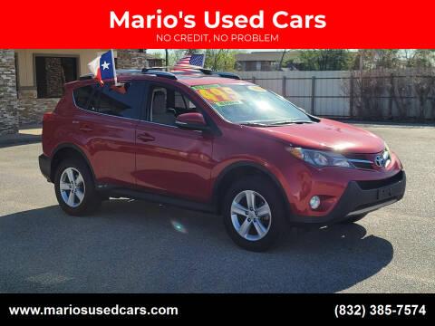 2014 Toyota RAV4 for sale at Mario's Used Cars - Pasadena Location in Pasadena TX