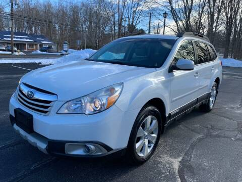 2012 Subaru Outback for sale at Volpe Preowned in North Branford CT