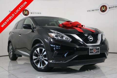 2015 Nissan Murano for sale at INDY'S UNLIMITED MOTORS - UNLIMITED MOTORS in Westfield IN