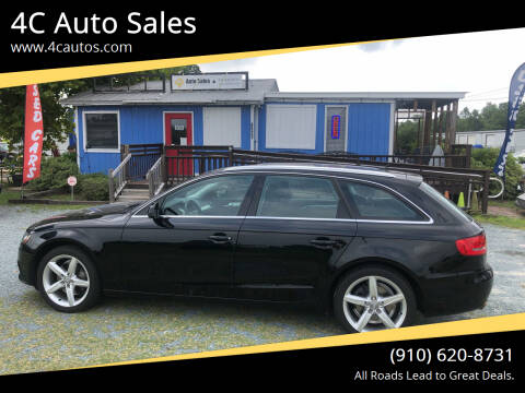 2010 Audi A4 for sale at 4C Auto Sales in Wilmington NC