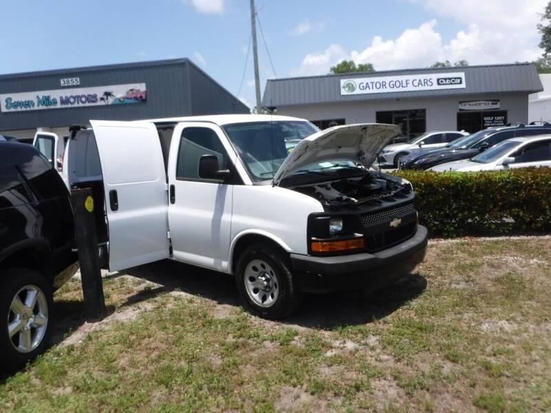 2013 Chevrolet Express Cargo for sale at Seven Mile Motors, Inc. in Naples FL